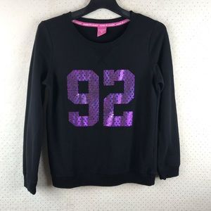 Hard candy black pullover long sleeve sweatshirt M